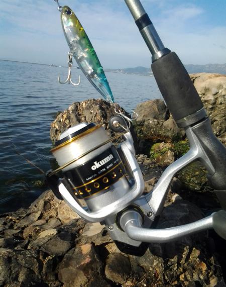 ¿Cómo pescar lubinas y bailas desde costa?