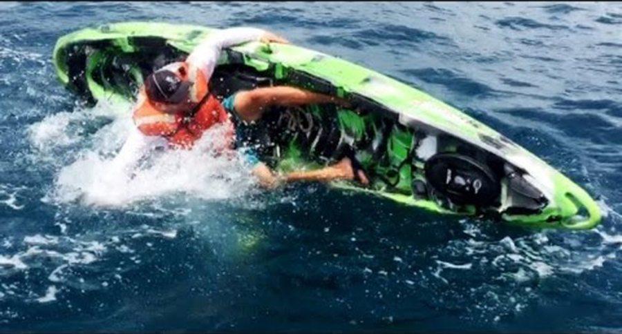 Sobrevive a un ataque de tibur 243 n mientras pescaba