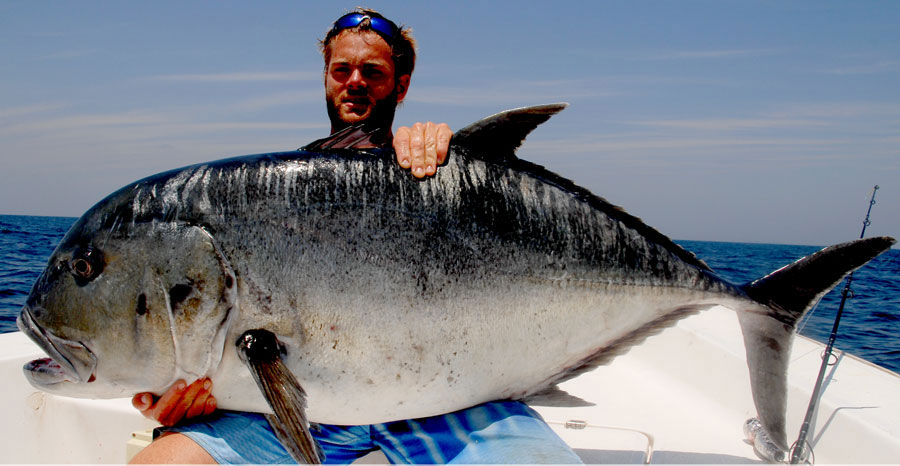jurel gigante pesca en mar espesca.es Top 10 de agua salada