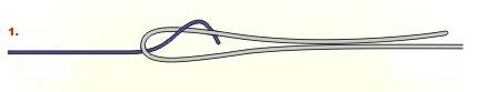 El nudo Alberto, perfecto para unir dos líneas de pesca facil Espesca (1)