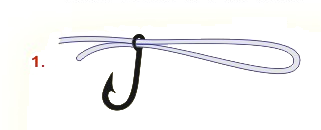 Nudos de pesca: nudo palomar para empatar anzuelos