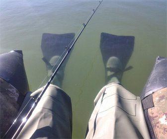 Aletas para usar patos de pesca