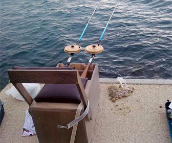 Arte de pesca con carro valenciano