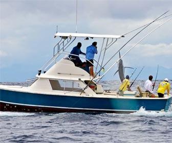 Barcos de pesca deportiva