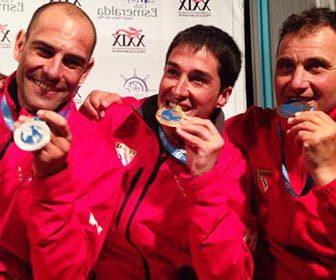 Campeones del mundo pesca submarina España