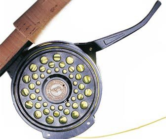 Carrete pesca a mosca semiautomatico