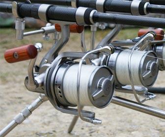 Carretes de pesca para carpfishing