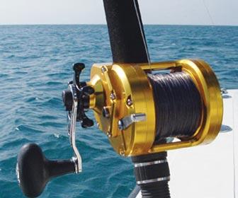 Carretes de pesca para el atún