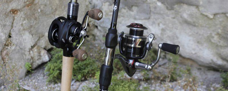 Como montar y preparar caña y carrete de pesca