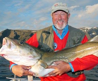 Como pescar bacalaos en Noruega