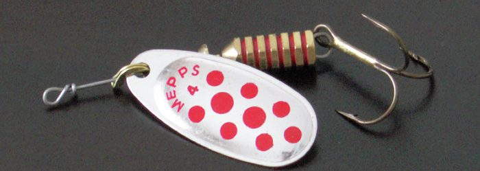Cucharilla para pescar truchas numero 4