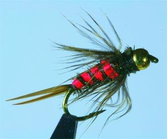 Dropper montaje pesca con mosca
