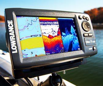 Electrónica náutica para la pesca