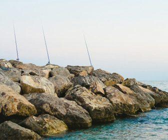 Espigones para pescar
