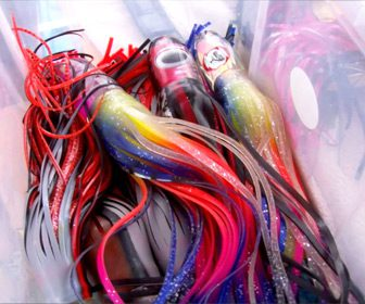 Grandes señuelos para pescar marlines