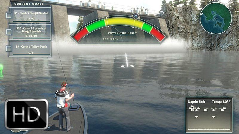 Imagenes juego Rapala Fishing Pro Series
