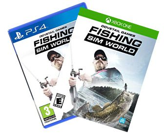Juego simulador Fishing Sim World PS4 y Xbox One