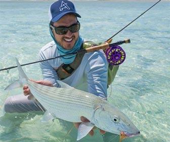 La divertida pesca del macabi o bonefish