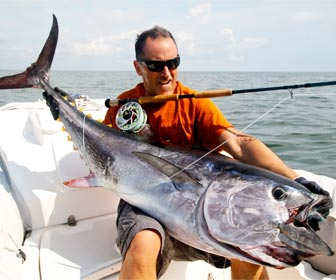 La pesca del atún al brumeo
