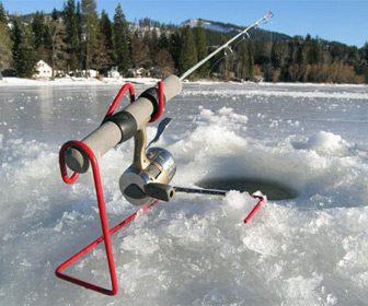 La pesca en hielo en Alaska