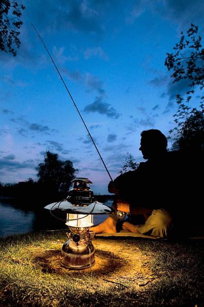 Foco para la pesca nocturna