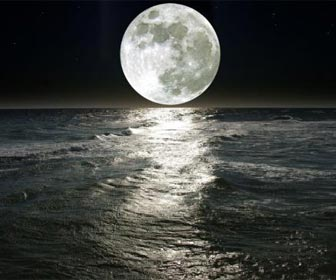 La pesca y la luna