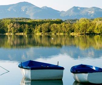 Lago de Bañolas, Gerona