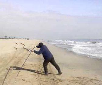 Lance surfcasting OTG