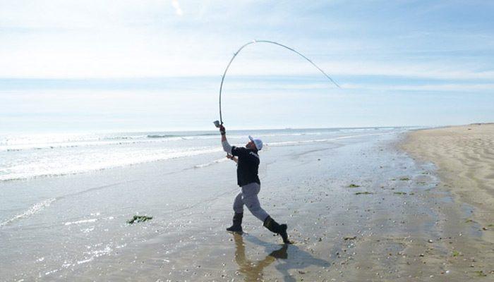 Lances De Pesca Cómo Lanzar La Caña De Surfcasting Espesca