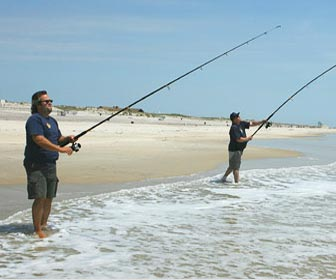 Lances pesca surfcasting