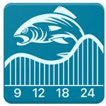Logo APP Fishing & Hunting Solunar Time