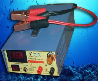 Material para la pesca electrica