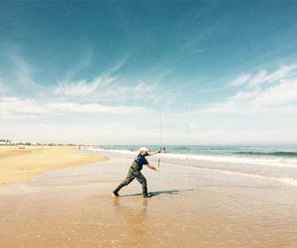 Mejores lances en la pesca surfcasting