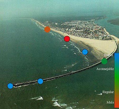 Mejores zonas de pesca en Punta Umbria Huelva
