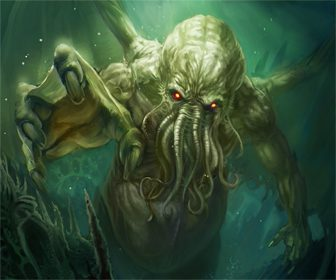 Monstruo literario Cthulhu