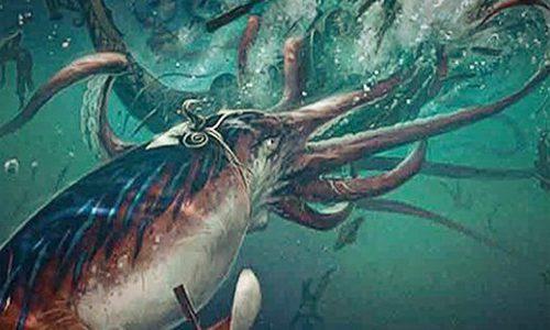 Monstruo marino Kraken