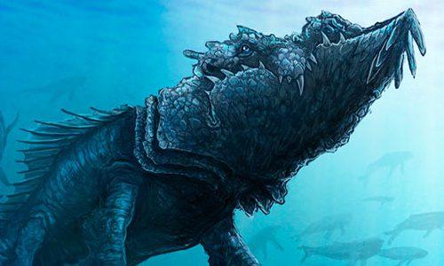 Monstruos mitológicos Leviatan