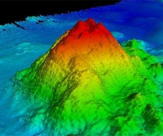 Monte submarino para la pesca alta mar