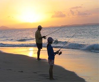 Paciencia del pescador