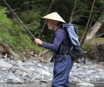 Pesca Tenkara en Japón