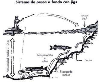 Pesca a fondo con jigs