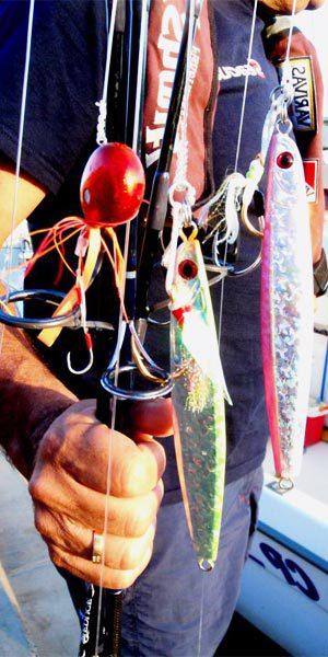 Pesca con inchikus para jigging