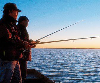 Pesca deportiva con caña