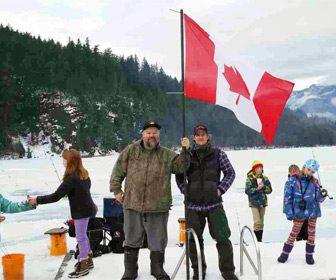 Pesca en Hielo en Canadá