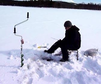 Pesca en hielo icefishing