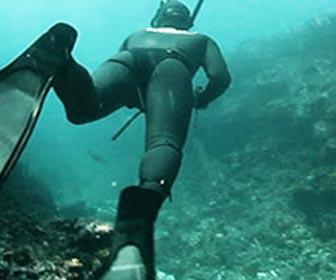 Pesca submarina en profundidad