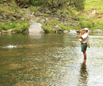 Pescador de aguas continentales