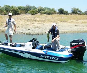 Pescadores deportivos aguas continentales
