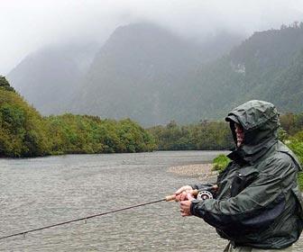 Pescar en dias lluviosos