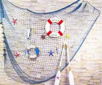 Rede de pesca decorativa